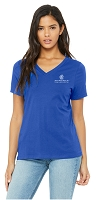 NCL Royal Blue Ladies Chapter V Neck