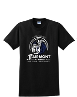 Fairmont Warriors Unisex Tee Shirt (Black or Royal)