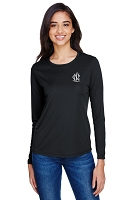NCL Ladies Performance Dri-fit Long Sleeve Shirt
