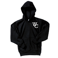 WC logo hooded pullover