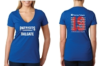 Patriots Tailgate 2019 Ladies V-Neck