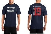 Patriots Tailgate 2019 Unisex Performance Tee Shirt