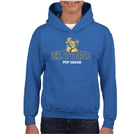 ETHS Pep Squad Bull Hooded Pullover (Optional Mom or Dad)