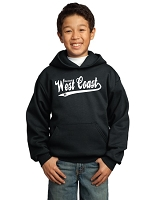 Baseball West Coast hooded pullover
