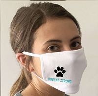 Bobcat Strong Adult Face Mask