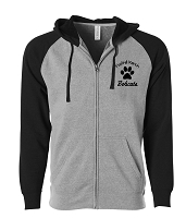 Foothill Ranch Bobcats Adult Full Zip Hoodie
